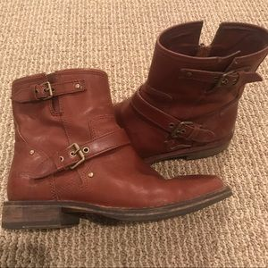 Women's UGG Leather Boots